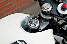 Yamaha XT500   Genuine RR Oil Dipstick Thermometer White Face QZ91037