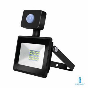 Faro Led 20W Con sensore Di Movimento Esterno Da Crepuscolare Luce Proiettore