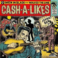 ROCKABILLY LP: CASH-A-LIKES -Men In Black Who Walked The Line TRAILER PARK