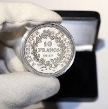 Coffret cadeau Pièce argent 10 francs Hercule 1965-1973 dans son écrin