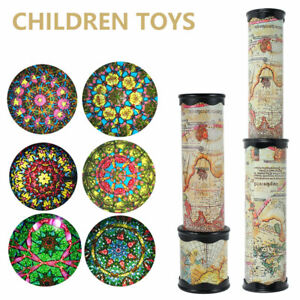Classic Toys Kaleidoscope Rotating Colorful World Kids Children Educational Toy