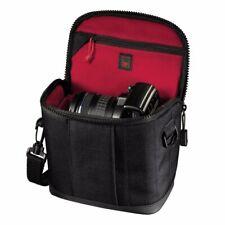 Hama Camera Bag Treviso 110 Black with Red Interior