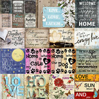 Diamond Painting 5D DIY Full Drill Letter Embroidery Cross Stitch Paint Pictures