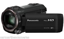 Panasonic HC-V770EB-K Full HD Camcorder - Wireless Twin Camera 20x Optical Zoom