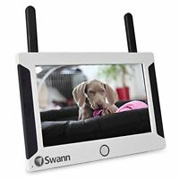 Swann NVW-470 WiFi 4-Channel 1024 x 600 7 Touchscreen LCD Security Monitor White