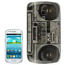 Kassette Casette Cover Samsung Galaxy S3 mini Hülle Tasche Etui Bumper