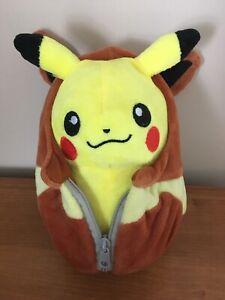Official Pokemon Banpresto - Pikachu Eevee Nebukuro Sleeping Bag Soft Toy Kawaii