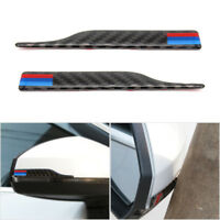 Carbon Fiber M Strip Side Rearview Mirror Guard Anti-rub Strip For BMW F10 E90