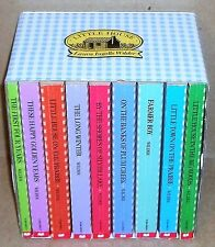 BOXED SET OF ALL 9 LITTLE HOUSE ON THE PRARIE BOOKS BY LAURA INGALLS WILDER