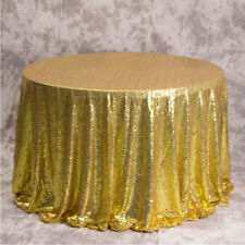 60/80/120Cm Sequin Glitter Tablecloth Table Cloth Cover For Wedding Event Party