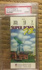 PSA 1.5 ,RARE Super Bowl XII Ticket ,Program ,Mug,Pennants,Cowboys/ Broncos 1978