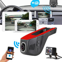 HD 1080P Hidden Wifi Car DVR Vehicle Camera Video Recorder Dash Cam G-Sensor new