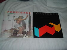 FOREIGNER Head Games + Agent Provocateur 2LP lot KING CRIMSON BLACK SHEEP SPOOKY