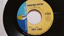 BOB LIND - It's Just My Love / Goodtime Special PROMO 1967 FOLK ROCK PSYCH 7""