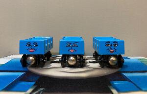 Thomas & Friends Wooden Train ADA, JANE, MABEL Roller Coaster Cars 1997