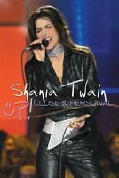 SHANIA TWAIN 'UP! CLOSE AND PERSONAL' DVD NEW!!