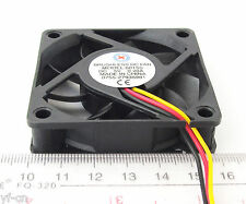 5pcs Brushless DC Cooling Fan 60x60x15mm 60mm 6015 7 blades 5V 3pin Connector