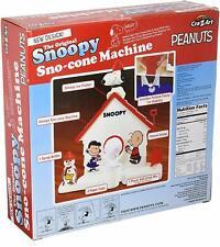 The Original Snoopy Sno Cone Machine Peanuts 18254 New Design Cra Z Art NEW