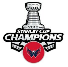 Official 2018 NHL Stanley Cup Final Finals Champions Pin Washington Capitals