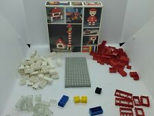 Vintage Lego 022 Denmark Building Set W/Box 112 peices  looks like its complete