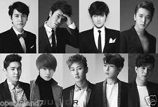 "SUPER JUNIOR ""GROUP WEARING SUIT COATS"" POSTER - Korean Boy Band, K-Pop Music"