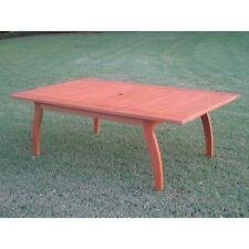 International Caravan Royal Tahiti Outdoor Rectangular Coffee Table, Brown