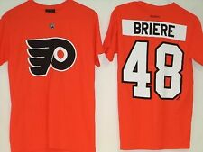 Philadelphia Flyers Reebok NHL Orange T-Shirt Jersey #48 Briere M