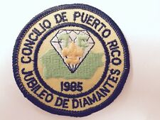 BSA PUERTO RICO JUBILEO DE DIAMANTES 75 ANIVERSARY-1985-VINTAGE