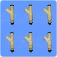 NEW OEM FUEL INJECTOR XS2E-A5B SET OF 6 FOR FORD AND MAZDA 1999-2005