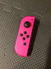 Genuine Nintendo Switch LEFT Side Neon PINK Joy Con Controller Only! Tested!