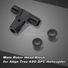 Main Rotor Head Block for Align Trex 450 DFC 6CH 3D RC Helicopter I7O7