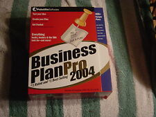Palo Alto Business Plan Pro 2004 (PC, 2004) #1 Rated & #1 Best-Seller  NEW
