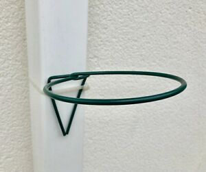 6 Drain pipe Plant hangers,Flower Pot Holders rings,hang pots on pipe or post