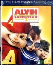 ALVIN SUPERSTAR 2 - BLURAY + DVD  NUOVO SIGILLATO