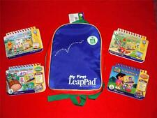 My First LeapPad Bookbag and 4 Games For Children Learning Educational Lot