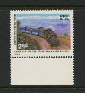 E642  India  1982  Darjeeling Himalayan Railway  trains  1v.      MNH