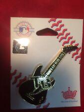 Tampa Bay Devil Rays Guitar Pin - New Old Stock