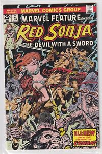 RED SONJA #2 SHE-DEVIL WITH A SWORD MARVEL COMICS GROUP 1976
