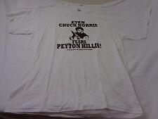 Vintage Even Chuck Norris Fears Peyton Hillis Men's T-shirt Size XL