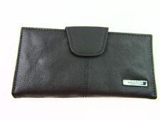 Portafogli e borsellini da donna portamonete nero con portafoto