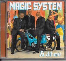 CD ALBUM 13 TITRES--MAGIC SYSTEM--KI DIT MIE--2007