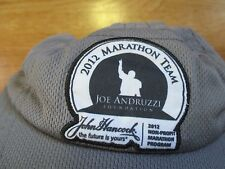 2012 BOSTON MARATHON TEAM - Joe Andruzzi NEW ENGLAND PATRIOTS (Adjustable) Cap
