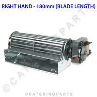 TAS18R 180mm LONG 60mm DIA BLADE 240 VOLT TANGENTIAL FAN MOTOR RIGHT HAND 240V
