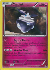 Carbink Holo Rare Pokemon Card XY2 Flashfire 68/106
