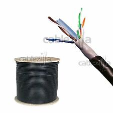 Cat6 OUTDOOR 1000FT UTP 23AWG CCAM Direct Burial  UV RATED Pull Box Cable