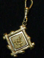 Masonic Pocket-Watch FOB    'new price'
