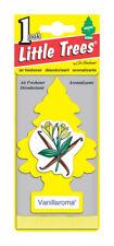Paquet de 10 Arôme Vanille Little Trees Voiture Maison Bureau Désodorisant