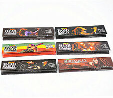 6 PCS BOB MARLEY King Size Rolling Paper 110mm Pure Hemp Cigarette Smoking Paper