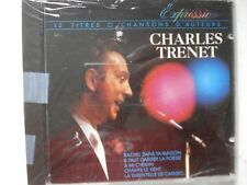 Expression Charles Trenet  CD Made in France 12 Tracks New Sealed     B137