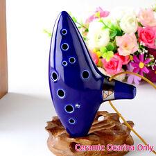 Ocarina Cerámica Agujeros Legend of Zelda Flauta Musical Instrumentos de Viento